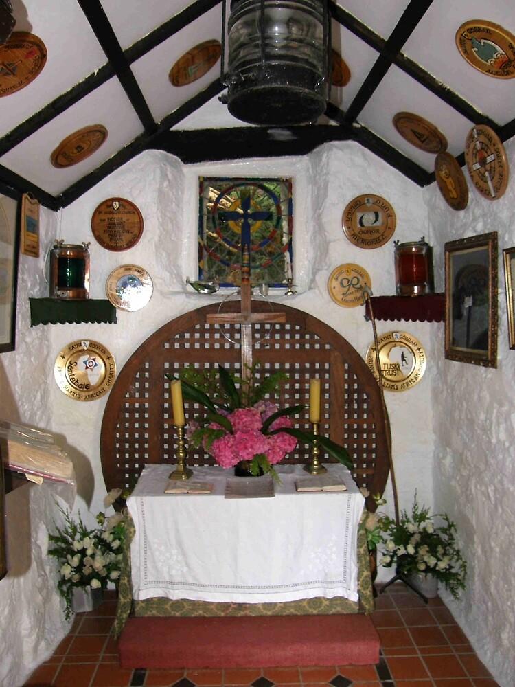 Inside St. Gobban's Church, Portbradden,Co Antrim Coast, Ireland by mikequigley