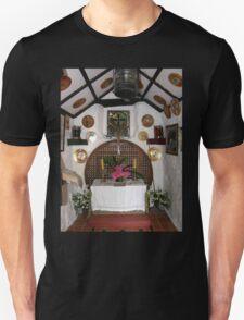 Inside St. Gobban's Church, Portbradden,Co Antrim Coast, Ireland T-Shirt