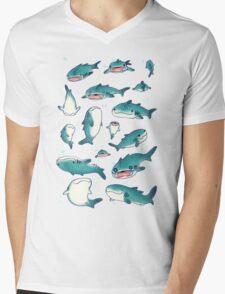 whale sharks! Mens V-Neck T-Shirt