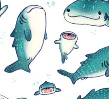 whale sharks! Sticker