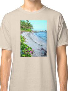 Floral Flowers Beach Florida Classic T-Shirt
