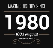 Making history since 1980 by JJFarquitectos