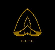 Astrology Symbol For Eclipse by Vy Solomatenko