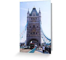 Tourist Patch Greeting Card