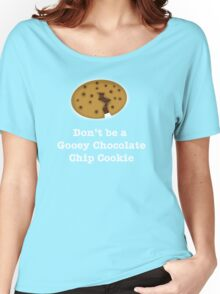 Gooey Chocolate Chip Cookie Women's Relaxed Fit T-Shirt
