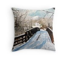 The Christmas Homecoming Throw Pillow