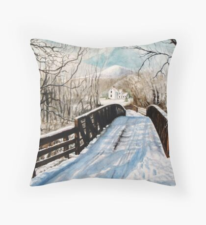 The Christmas Homecoming Throw Pillow