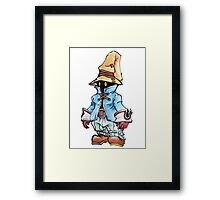 Final Fantasy 9 Vivi in Pastel &Colour Pencil Framed Print