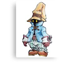 Final Fantasy 9 Vivi in Pastel &Colour Pencil Metal Print