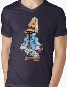 Final Fantasy 9 Vivi in Pastel &Colour Pencil Mens V-Neck T-Shirt