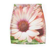 Macro Pink Cinnamon Tradwind Daisy Flower in the Garden Mini Skirt