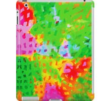 Multicolor Abstract Watercolor Painting iPad Case/Skin