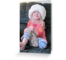What A Hat! Greeting Card