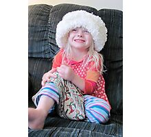 What A Hat! Photographic Print