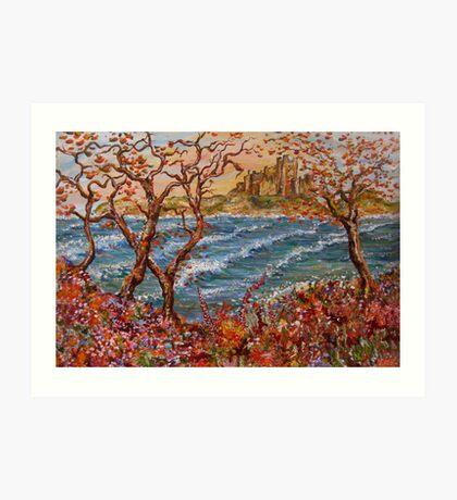 Bamburgh Castle Northumberland Art Print