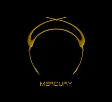 Astrology Symbol For Mercury by Vy Solomatenko