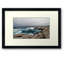 Peggy's Cove, Nova Scotia - Panorama Framed Print