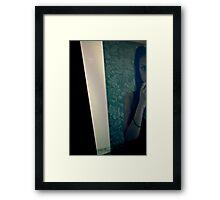 Act Still... Framed Print