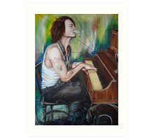 JD Piano Art Print