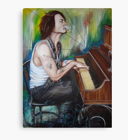JD Piano Canvas Print