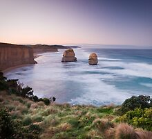 Two Apostles - Great Ocean Road, Victoria by Liam Byrne