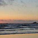 Seaspray sunset by beachykeen