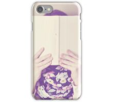 Portrait of a Girl with Book iPhone Case/Skin