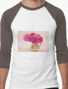 Sweet Blossoms  Men's Baseball ¾ T-Shirt