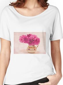 Sweet Blossoms  Women's Relaxed Fit T-Shirt