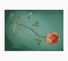 Rose daisies vase Baby Tee