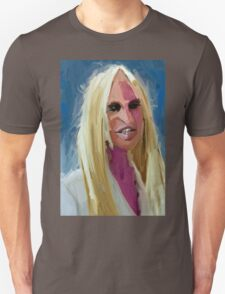 Portrait of Donatella Versace Unisex T-Shirt