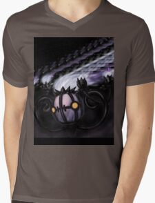 Chandelure Mens V-Neck T-Shirt