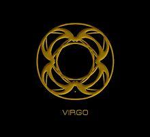 The Virgo Zodiac Sign by Vy Solomatenko