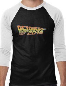 Back to the Future October 21, 2015  30 year anniversary Men's Baseball ¾ T-Shirt