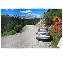 Through the mountains II Poster