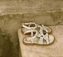 Little Shoes Left Behind by Caren