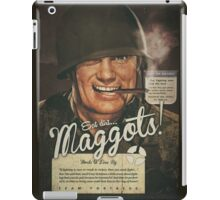 Team Fortress 2 - Eat Dirt, Maggots! VINTAGE WAR iPad Case/Skin