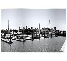 Pier minus color Poster