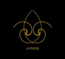 The Aries Zodiac Sign by Vy Solomatenko