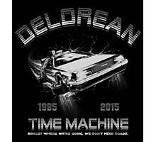 Delorean in Flight  Photographic Print