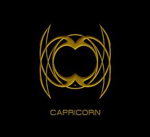 The Capricorn Zodiac Sign by Vy Solomatenko