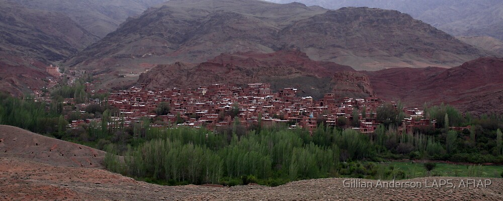 Abyaneh by Gillian Anderson LAPS, AFIAP