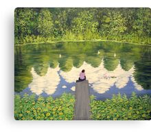 THE LONELY LADY Canvas Print