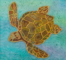 Turtle by PippinTextiles