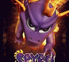 Spyro the Dragon - Fire Breather by Daniel J. Carville