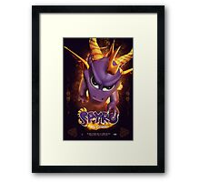 Spyro the Dragon - Fire Breather Framed Print