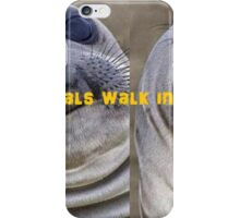 just 2 sealz iPhone Case/Skin