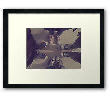 chucks. Framed Print