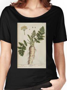 A curious herbal Elisabeth Blackwell John Norse Samuel Harding 1739 0324 Parsnip Women's Relaxed Fit T-Shirt