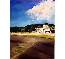 Lime Rock Park 4. Acrylic Painting. Photographic Print